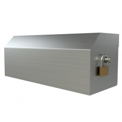 Heavy Duty Three Roll Shrouded Stainless Commercial Toilet Paper Dispenser
