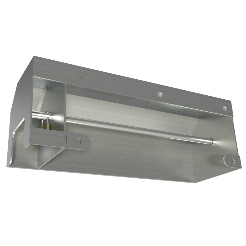 Vandal Resistant Three Roll Shrouded Stainless Commercial