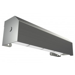 Vandal Resistant High Capacity Four Roll Shrouded Stainless Commercial Toilet Paper Holder