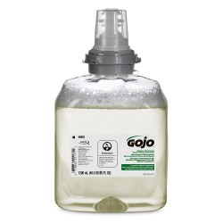 GOJO 566502CT TFX Green Certified Foam Hand Cleaner Refill, Unscented, 1200mL, 2/Carton