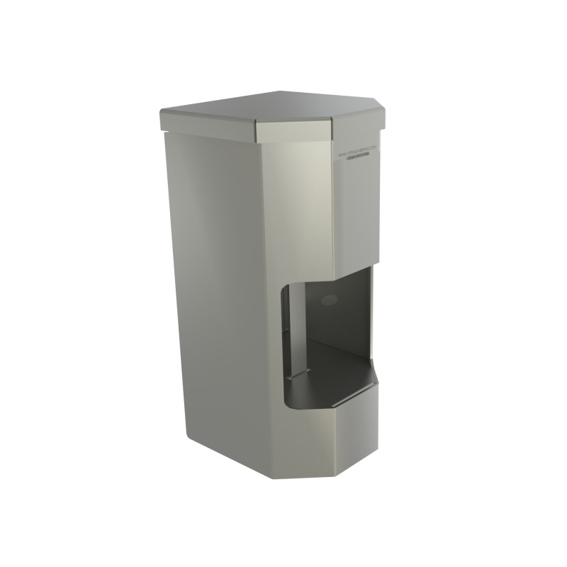 Vandal Resistant Two Roll Vertical Toilet Paper Holder
