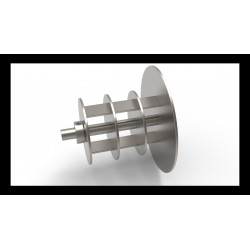 Jumbo and Mini Jumbo Cored Spindle Adapter