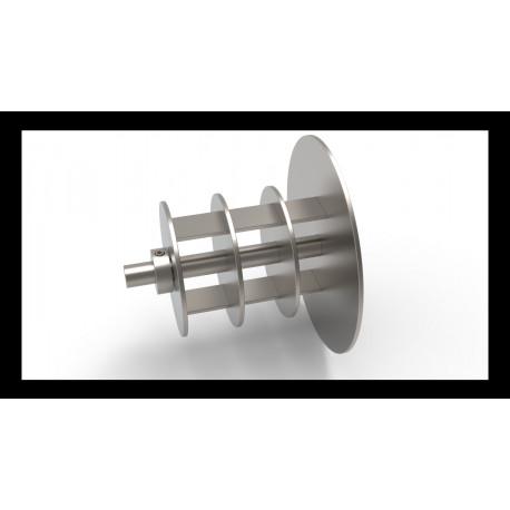 Jumbo and Mini Jumbo Cored Spindle Adapter