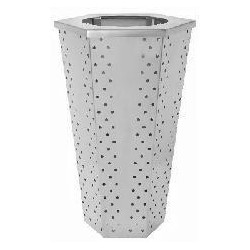 Vandal Resistant Trash Can / Waste Receptacle