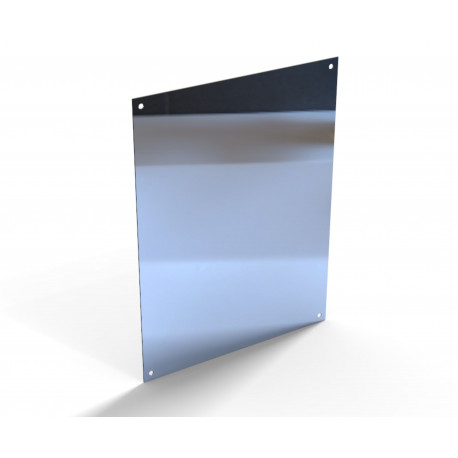 No Glass Polished Stainless Steel Mirror