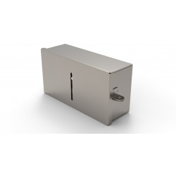 Vandal Resistant Narrow Paper Towel Holder