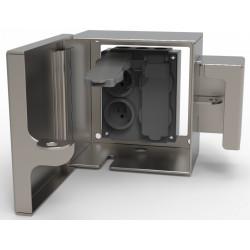 Vandal Resistant Outdoor Electric Receptacle Lock Box