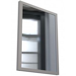 Vandal Resistant Restroom Security Mirror with Sacrificial Plexiglass