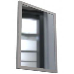 Vandal Resistant Restroom Security Mirror with Sacrificial Plexiglass