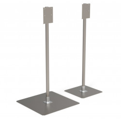 Stainless steel Soap Dispenser Hand Sanitizer Stand Station