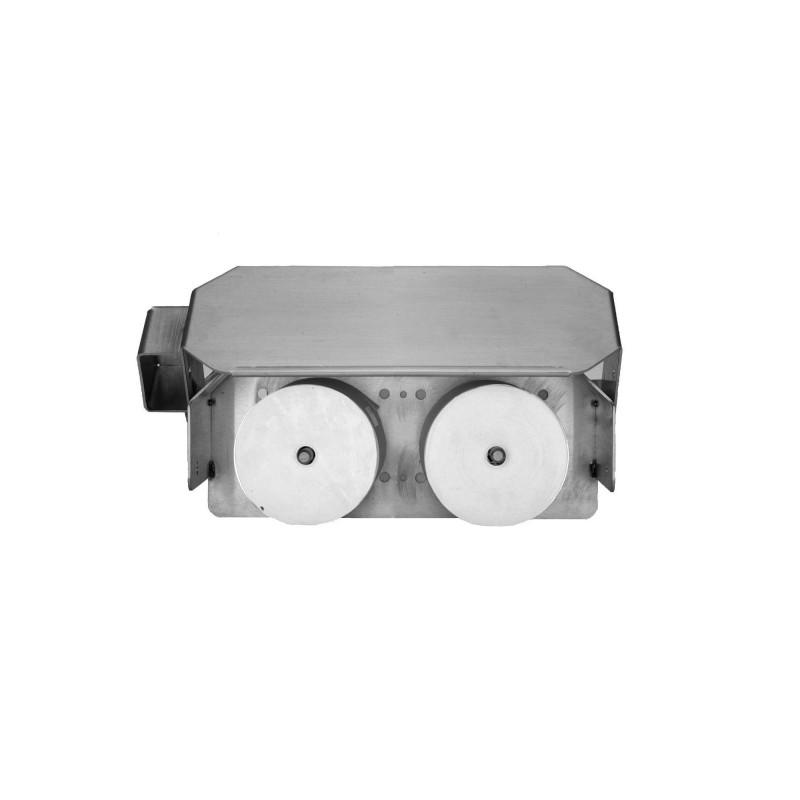 Vandal Resistant Two Roll Horizontal Toilet Paper Holder