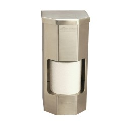 Vandal Resistant Two Roll Vertical Toilet Paper Dispenser