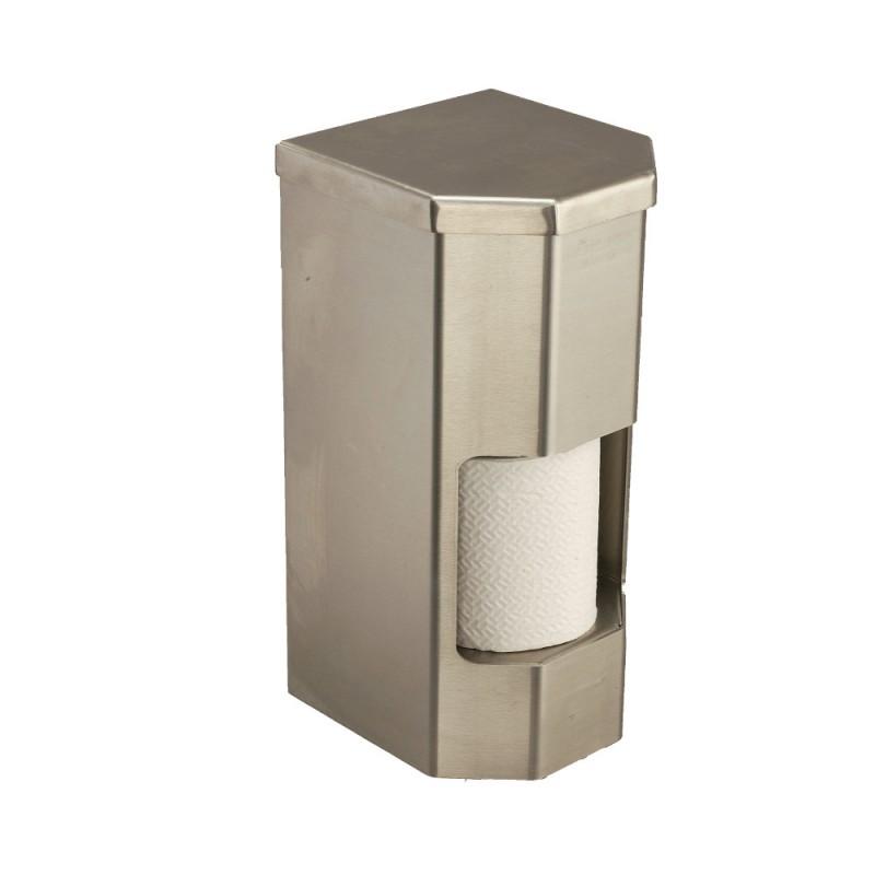 Vandal Resistant Two Roll Vertical Toilet Paper Holder