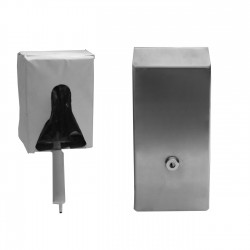 Vandal Resistant Push Front Soap Dispenser - Boxed Liquid Soap