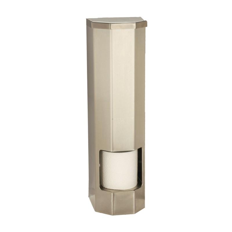vandal resistant four roll vertical toilet paper dispenser