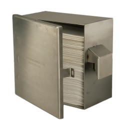Vandal Resistant Wide Paper Towel Dispenser