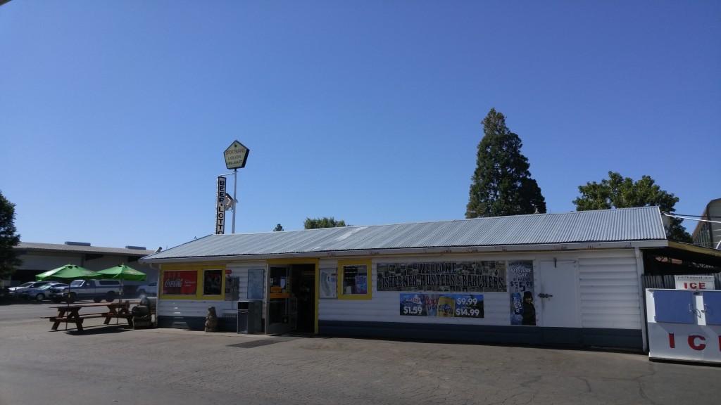 Shell Gas Station Fall River Mills California Bathroom